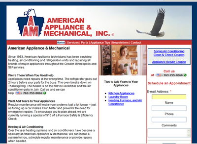 American Appliance & Mechanical